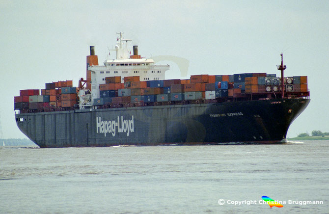 "Hapag-Lloyd Containerschiff ""FRANKFURT EXPRESS"""
