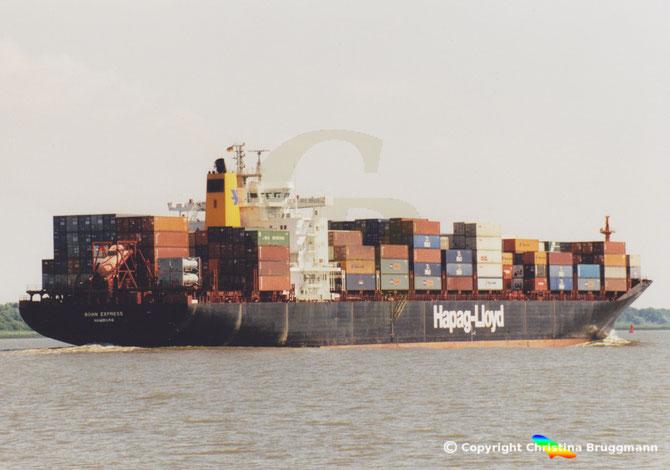 "Hapag-Lloyd Containerschiff ""BONN EXPRESS"""