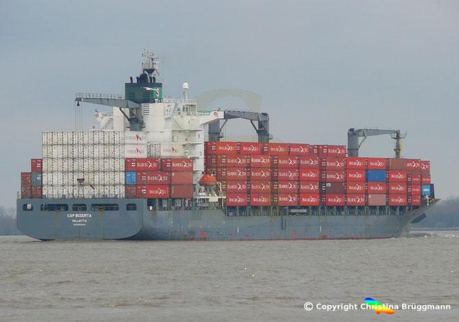 "Containerschiff ""CAP BIZERTA"""