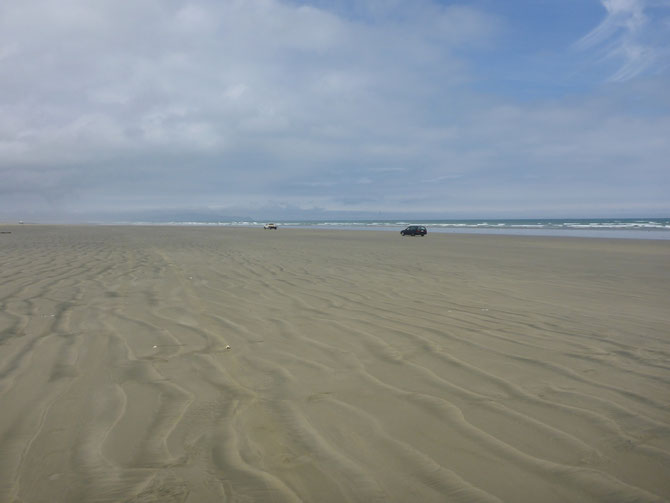 Der Strand als Straße