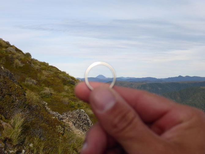 Ein Ring sie zu knechten ... Mount Ngauruhoe a.k.a. der Schicksalsberg