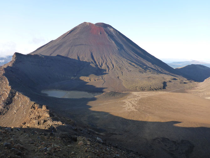 Blick zurück auf den South Crater