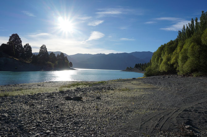 Unsere Bucht am Lake Pukaki