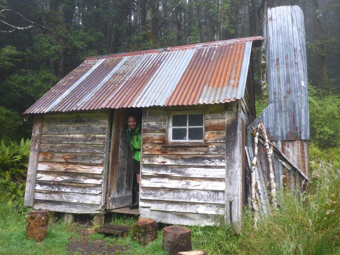 Die Martin's Hut - unsere letzte Hütte auf dem Te Araroa