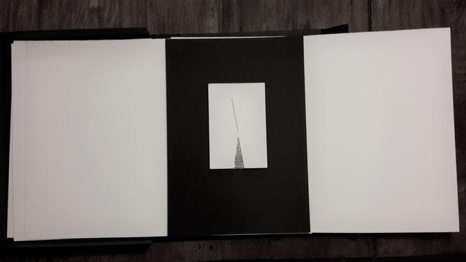 opera originale di Carlo Oberti - tecnica mista - 150x100 mm circa