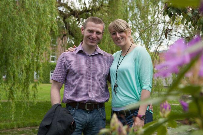 Meine Frau Verena und ich