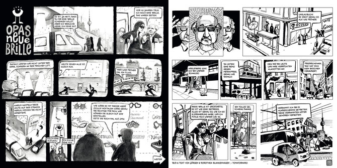 "The Comic ""Opas neue Brille"" © tomatornado 2015"