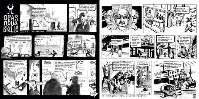 "The Comic ""Opas neue Brille"" © tomatornado 2015"