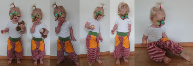 Hose Frida Fotoshooting