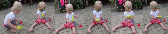 MiniBix und Seifenblasen