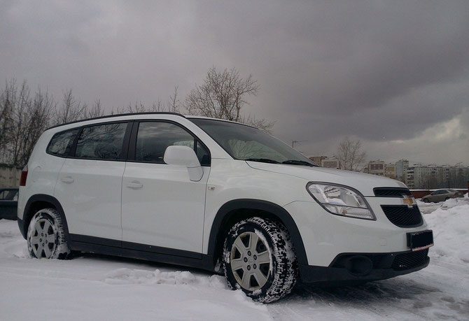 chevrolet orlando russian version