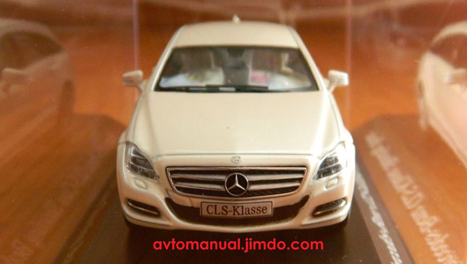 CLS Shooting Brake X218 scale 1:43 Norev B6 6 96 0113