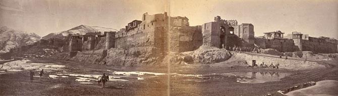 بالاحصار پانورامیک. جان بورک 1879