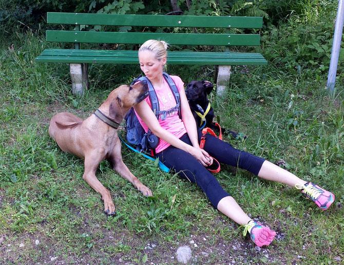 Hundetrainerin Nathalie Örlecke