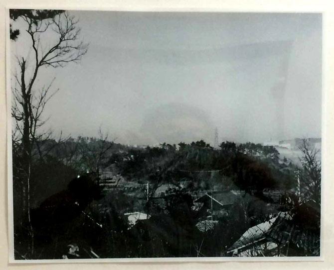 昭和30年頃、現在の亀の井付近から南西を見る