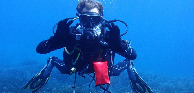 Diving in Menorca