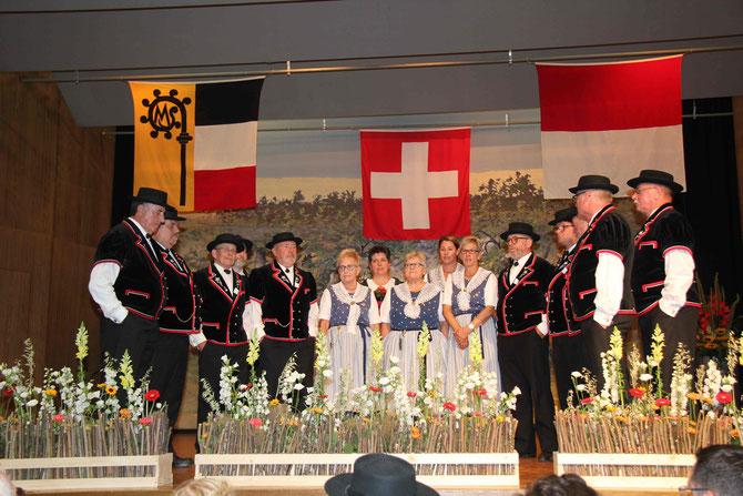 30. Eidgenössisches Jodlerfest in Brig-Glis am 24. Juni 2017 in der Turnhalle der Primarschule Brig