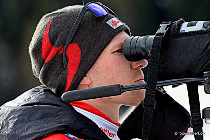 Biathlon-Nachwuchs-Koordinator und Landestrainer Markus Michelak