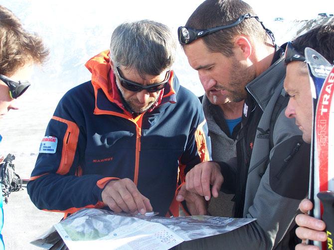 Cartographie avant le départ
