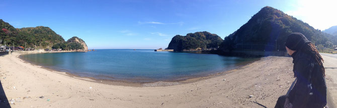 京都府丹後半島泊ビーチ