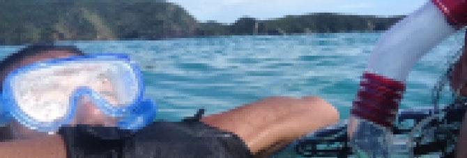 沖縄 離島 渡嘉敷島 ハナレ島 ビーチ シュノーケリング