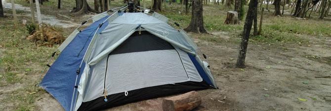 沖縄 座間味島 阿真ビーチ キャンプ場 キャンプ アウトドア テント