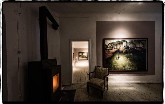 Der Kunstversorger, Galerie und Atelier von Lukas Johannes Aigner, Maler aus Linz