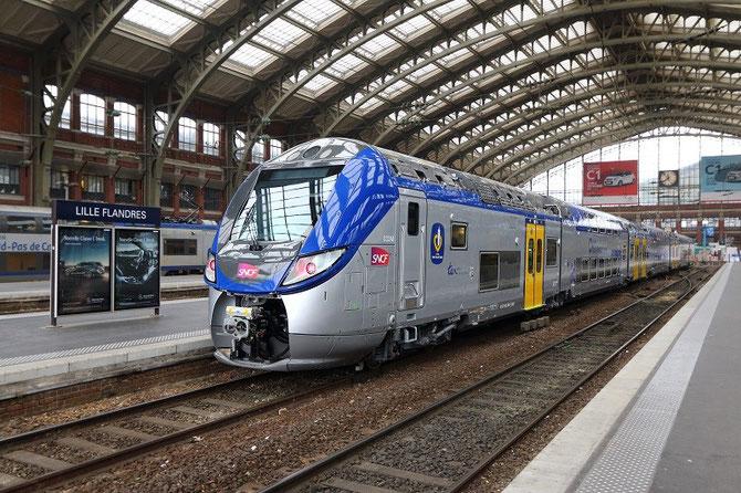 Regio 2N Bombardier en gare de Lille-Flandres