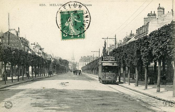 Les tramways de melun connaissance du for Departement melun
