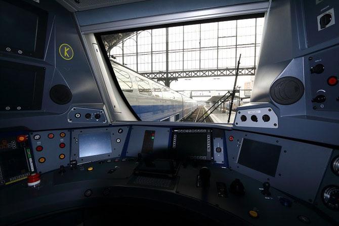 cabine de conduite automotrice Regio 2N Bombardier