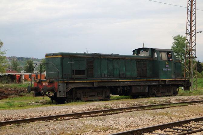 642-036 des ŽRS en gare de Doboj