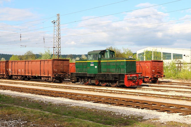 Locotracteur 733-032 des ŽRS à Banja-Luka