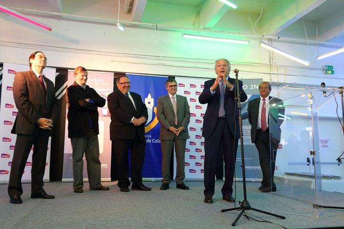 Discours inauguration automotrice Bombardier Regio 2N Nord-pas-de-Calais