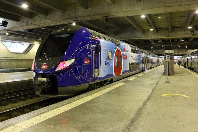 Rame Regio 2N à Paris-Montparnasse