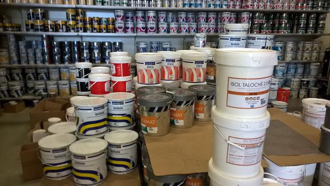 Stock de peinture à Montpellier
