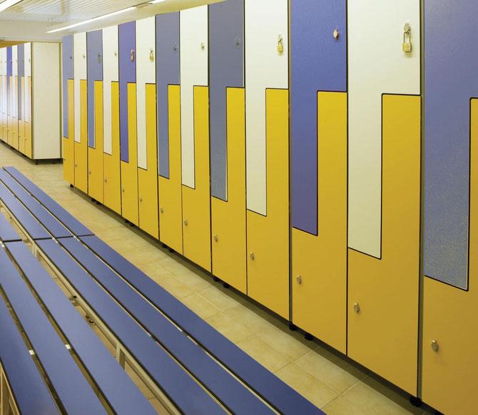 Taquillas. La más amplia gama del mercado. Usted elige material, color, medida, número de puertas, tipo de cerradura, complementos,... Su mueble como usted lo quiere!!