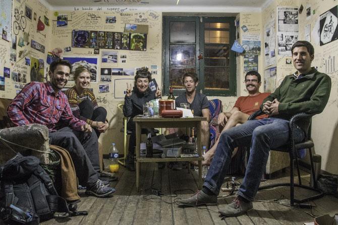 """""""We are family!"""" im Casa de las Ciclistas in La Paz"""