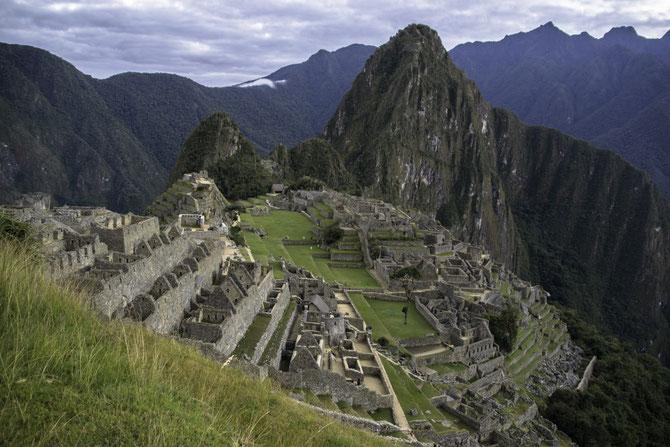 Atemraubender Blick auf den berühmten Machu Picchu