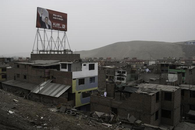 Vorort im Süden von Lima