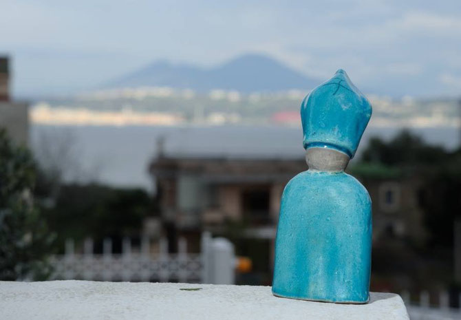 San Gennaro, ceramica Le Terre di Rò