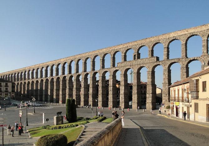Самый длинный древнеримский акведук