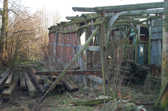 Ruine der Scheune
