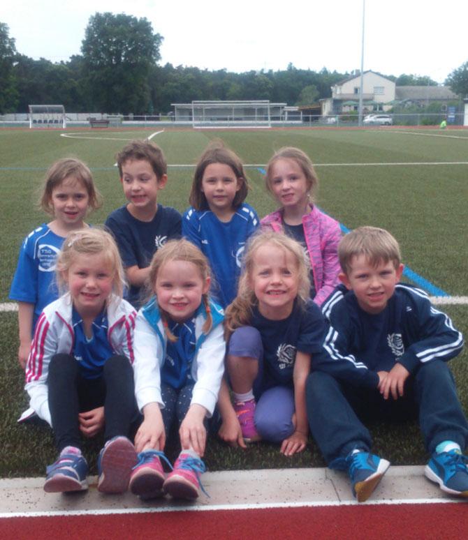 Kinder-Leichtathletik-Wettkampf in Reilingen 18.06.2016