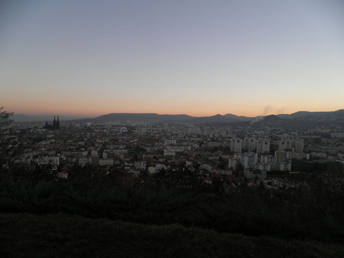 Sonnenuntergang im Dezember 2013
