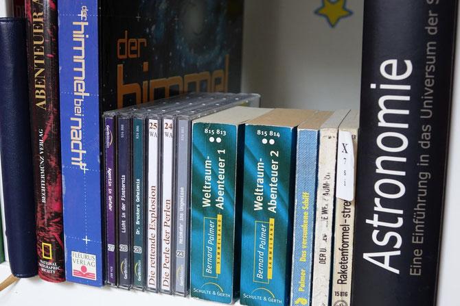 Eine Auswahl meiner Weltraumsammlung