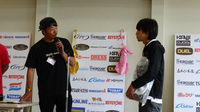 2位は津川順至さん(23) 記録2.50kg 今回レベルが高すぎます…!!