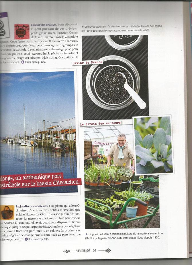 Magazine Cuisine d'çi ETE 2015