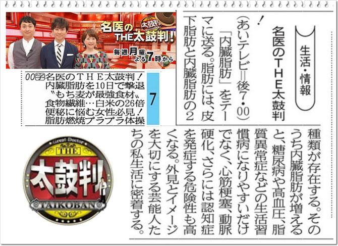 愛媛新聞 番組表より引用!