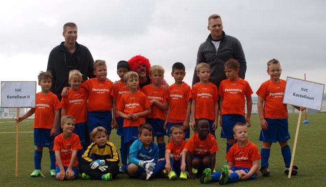 Bambini-Turnier in Niederburg 2014