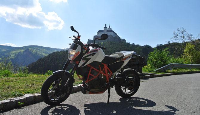 Und noch ein Blick auf die Burg Forchtenstein